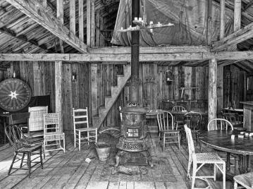 Early Western Saloon