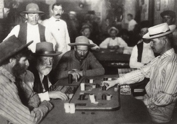 Faro Card Game Old West