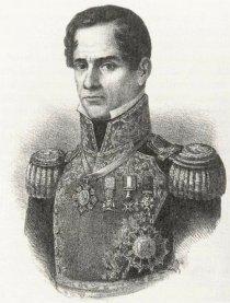 Santa Anna c 1852