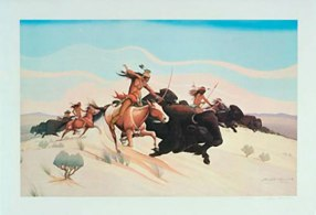 Apache Buffalo Hunt 001