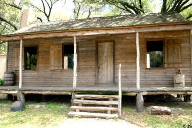 1823 Texas Cabin