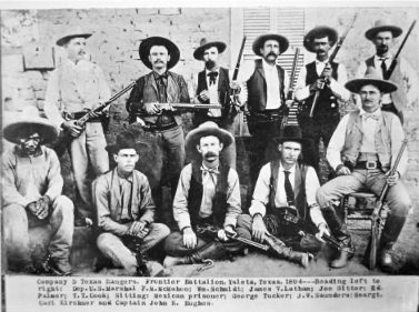 Co D Texas Rangers 1894